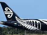 The Air New Zealand flight arrived at Cairns International Airport about 2.30 on Monday morning (stock image)
