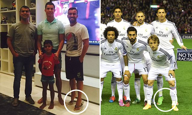Cristiano Ronaldo watches Audi Cup final at home with family... as his best friend strikes