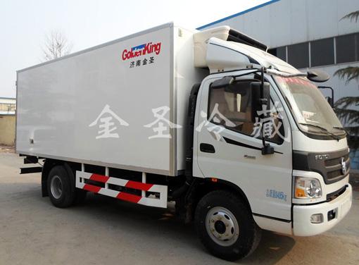 福田欧马可4.2米冷藏车