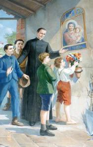 São Gaspar fundou Oratórios Marianos e ensinou os meninos a cultivarem a devoção à Virgem Maria