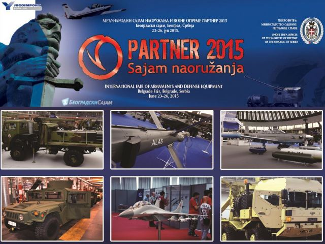 Partner 2015 pictures Web TV Television video photos images International fair of armament and military equipment defense exhibition Belgrade Serbia Serbian army