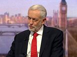 On the BBC's Andrew Marr show today, Jeremy Corbyn made clear the party is on high alert to try to force the PM out and a general election