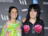 Comedian Noel Fielding, right, and his girlfriend radio presenter Liana Bird, left, have submitted an application to build a roof terrace on their London home