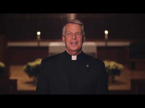 2018 Christmas greetings from Fr. Mark L. Poorman, C.S.C., President