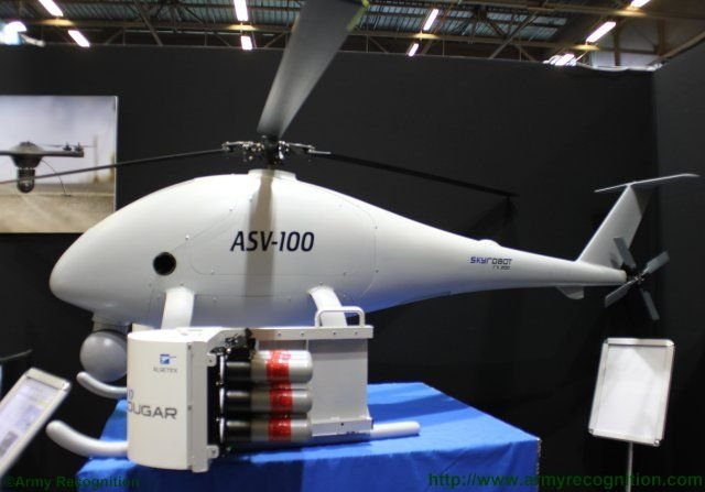 Aero Surveillance launches a new Multi purpose Payload Launcher for its line of UAVs 640 001