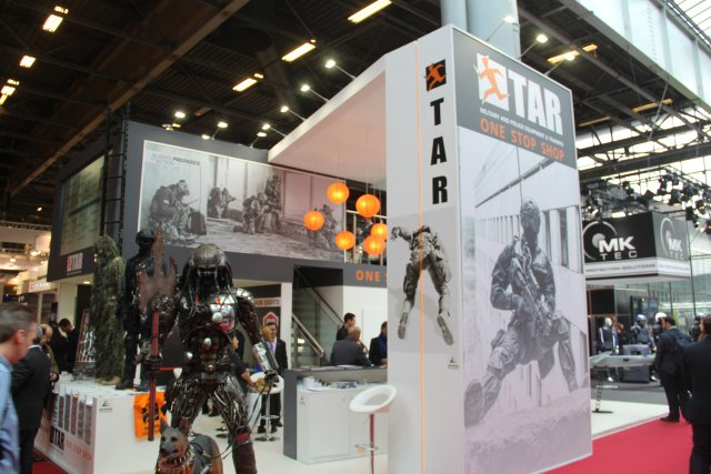 TAR Ideal Concepts presents its new partners products with IR Defense at Milipol this week 640001