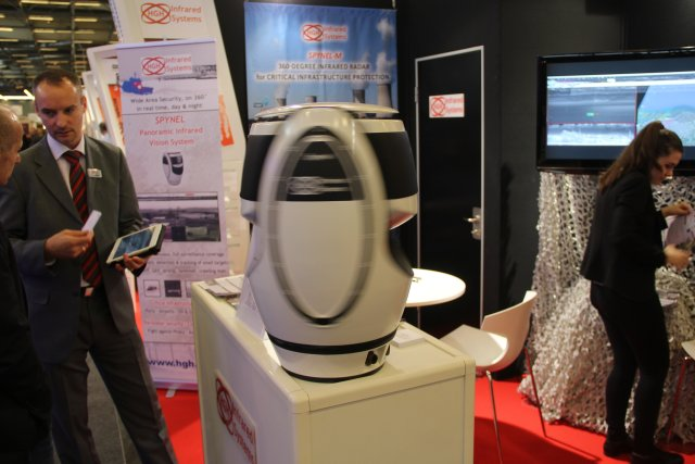HGH Infrared Systems introduces a new feature to its Cyclope surveillance software at Milipol 640001