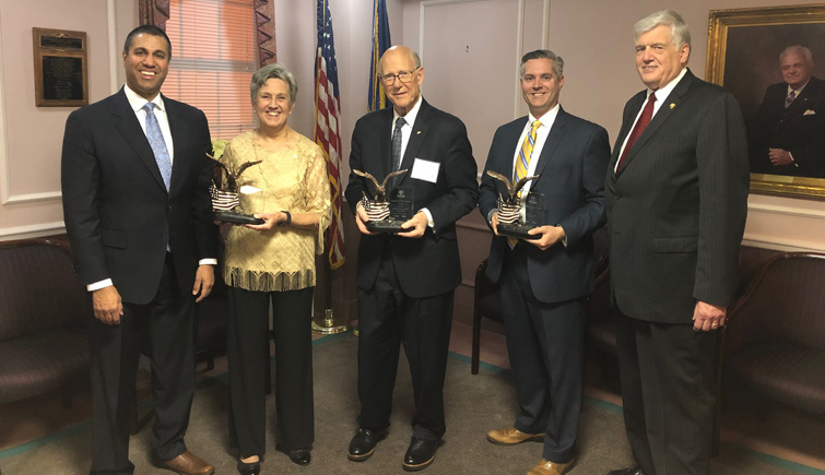 3 receive Champion of Rural America Award from National Grange