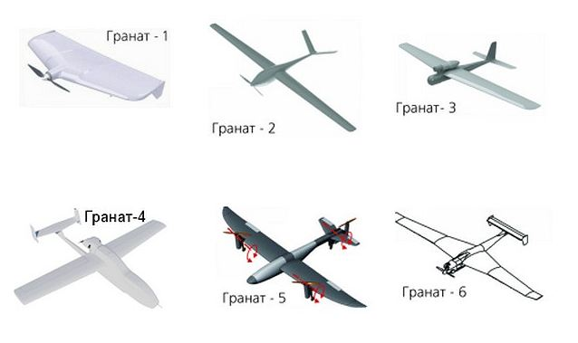 Izhmash-Unmanned Systems will start trials of the Granat-6 unmanned aerial vehicle 640 001
