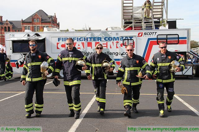 French Firefighters sponsored by Army Recognition at World Firefighter Combat Challenge in US 002