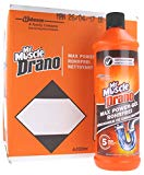 Drano Power Gel 6 Flaschen x 1 Liter