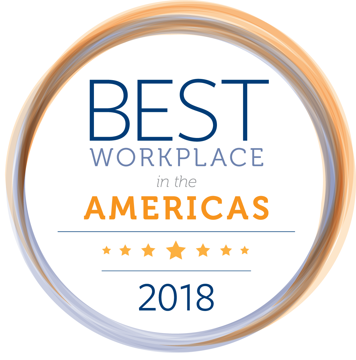2018 Best Workplace in the Americas Awards