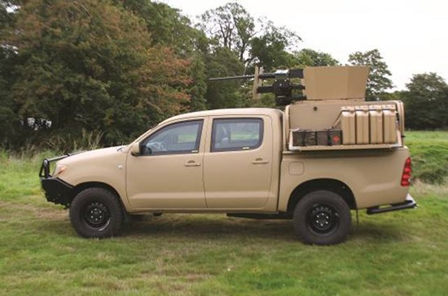 Jankel Fox Tactical Utility Vehicle TUV