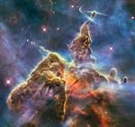 Hubble presenta su foto de cumpleaños