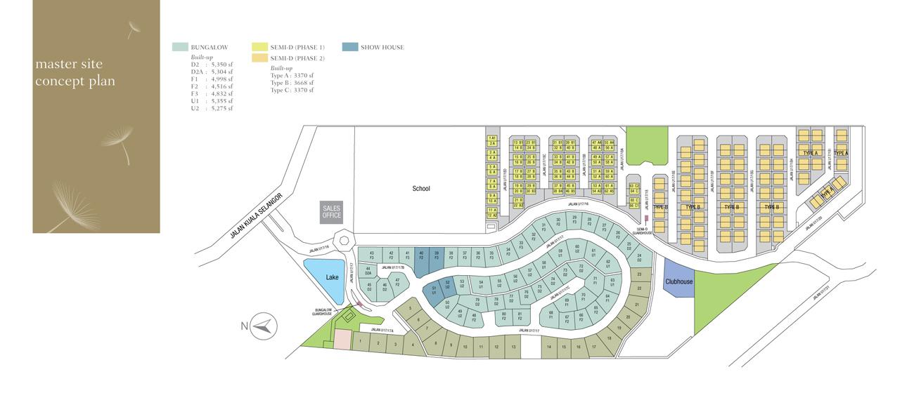 master siteplan - AMVERTON HILLS