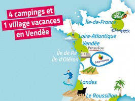 Campings Camp'Atlantique Longeville-sur-Mer