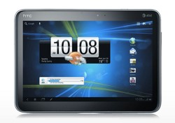 HTC Jetstream(AT&T) tablet with Android Honey Comb Now Available in Market