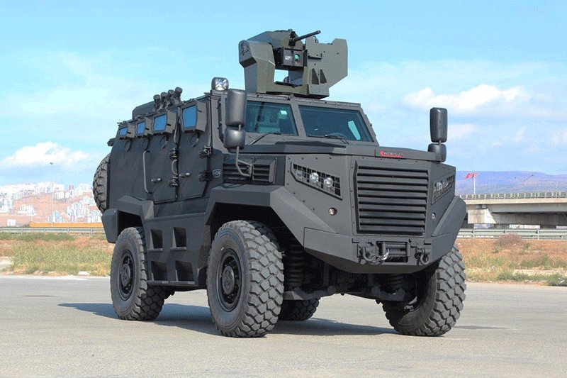 Katmerciler HIZIR Tactical Armored Wheeled vehicle 925 001