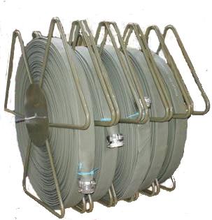 manual roll lay flat hose