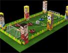 足球碰碰车场地设计方案
