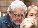 Rolf Harris has been put on house arrest by his family after he was given a warning from police after wandering into primary school grounds