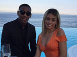 Manchester United star Anthony Martial (left) slept with a model at a cheap Paris hotel while his girlfriend Melanie da Cruz (right) was expecting his second child, it is alleged