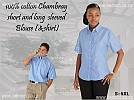 Blouses-Cotton-Chambray