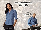 Blouses-Denim-Cotton