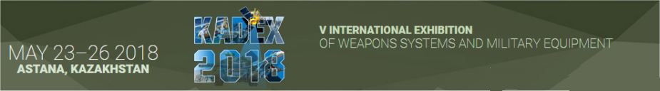 KADEX 2018 V International Exhibition of weapons military equipment Astana Kazakhstan top page 925 001