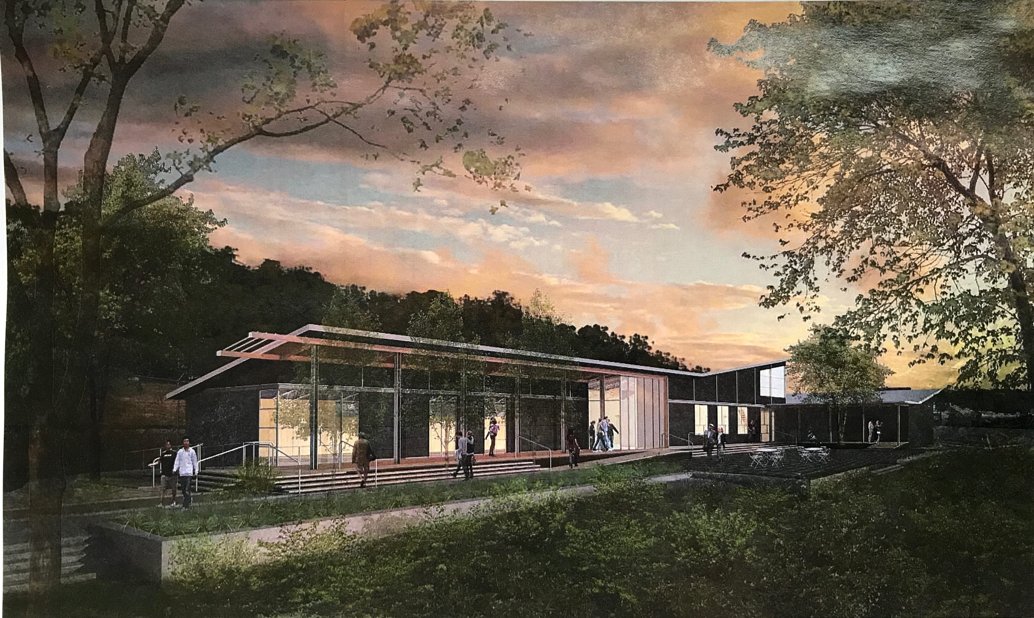 A rendering of Tree Pittsburgh's new campus