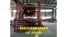 轮胎安装扩胎口机构