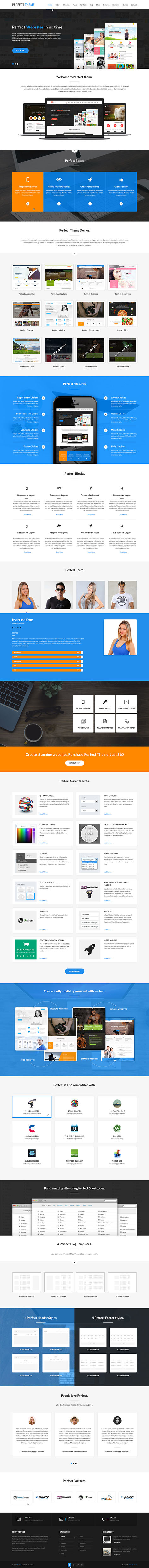 commercial WordPress theme