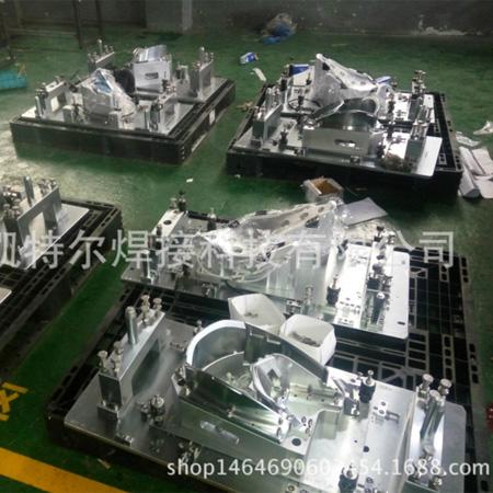 车灯热板焊接模具