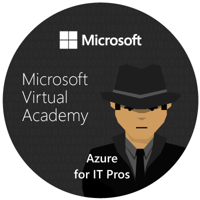 Badge Azure For IT Pros