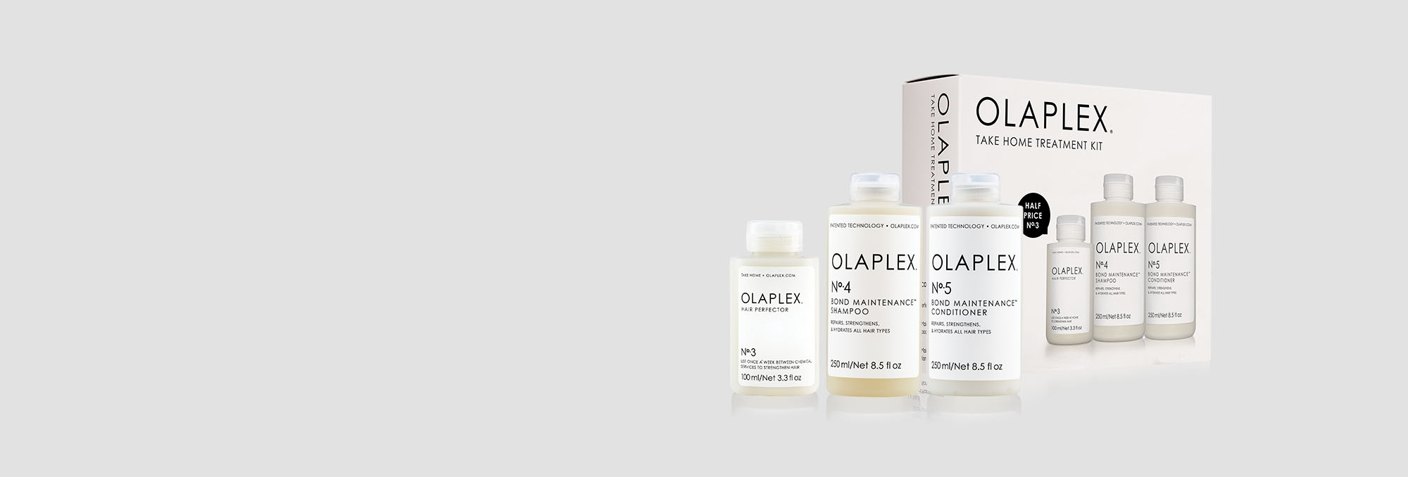 <span style='display: block;'>Now Available</span> <span style='font-size:60%; display:block;'>Olaplex Take Home Treatment Kit</span> <span class='micro salon-button'><a href='https://olaplex.com.au/members'>Salons - Shop Now</a></span> <span class='micro'><a href='https://consumer.olaplex.com.au/shop'>Consumers - Buy Online</a></span>