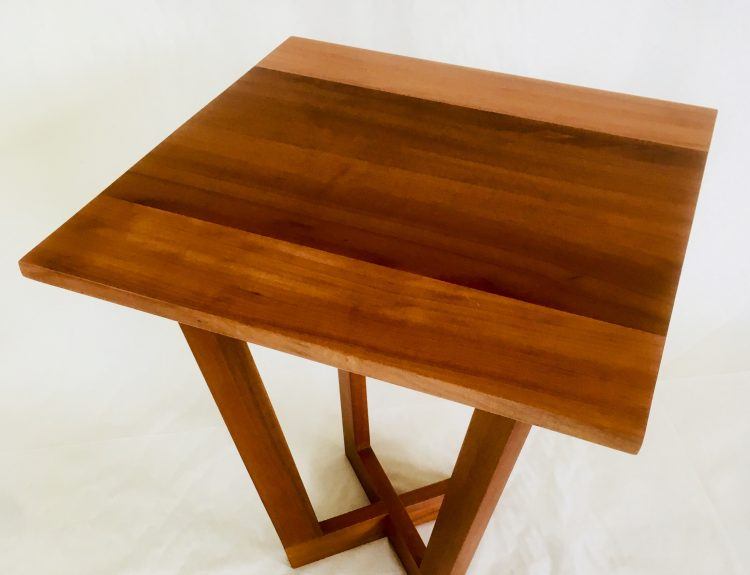 Sloping Leg  Myrtle Table