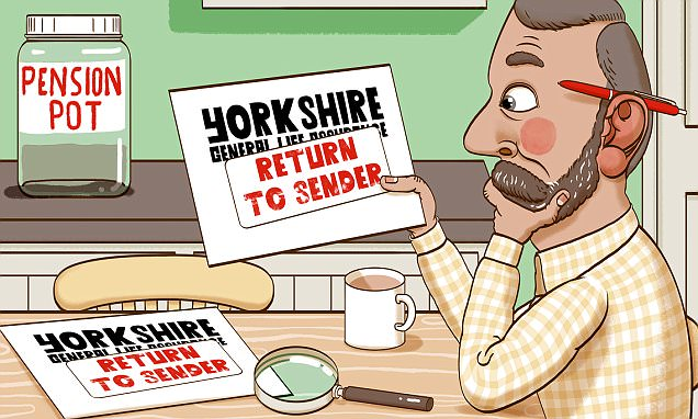 ASK TONY: I can't trace 80s pension with Yorkshire-General