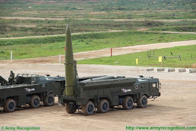 Artillery units of Russia will replace Tochka-U tactical missile with Iskander-M 640 001