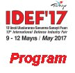 IDEF 2017 News report coverage show daily defence industry fair exhibition Istanbul Turkey May 2017 Turkish International defence security industry army military