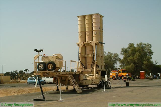 Arrow 2 anti-ballistic air defense missile system Israel Israeli army defense forces military equipment 640 001