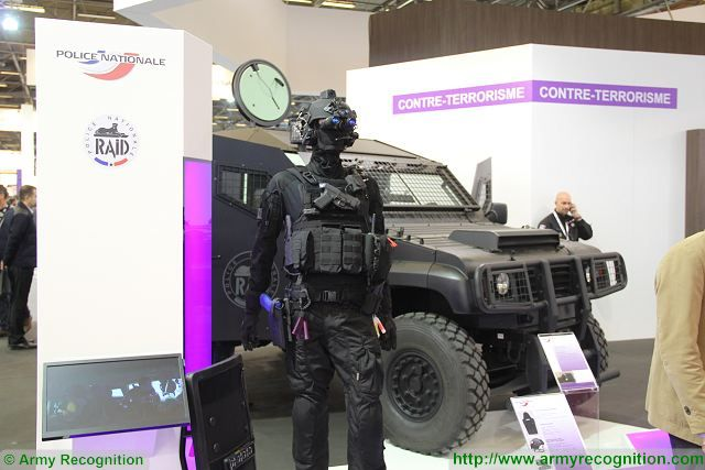 Milipol 2015 worldwide exhibition of Internal State Security Paris France 640 002