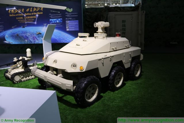 Sharp Claw 2 UGV Unmanned Ground Vehicle NORINCO China Chinese defense industry military equipment 640 001