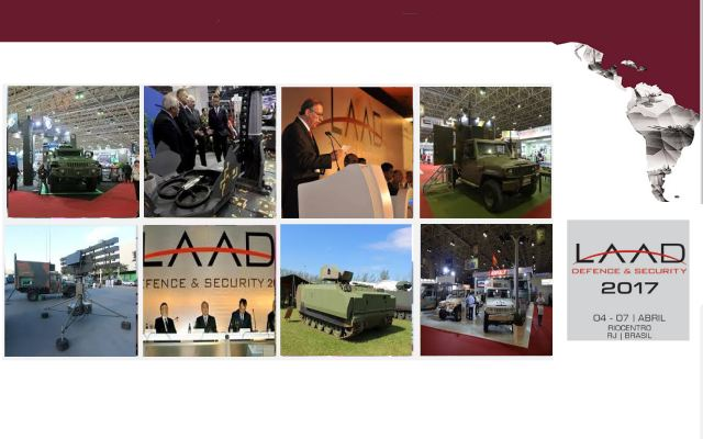 LAAD 2017 Web TV Television video pictures photos images  International Defense Security Exhibition Conference Rio Brazil army military industry technology