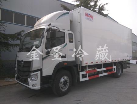 福田欧马可国五S5 6.8米冷藏车