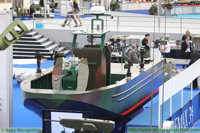 Premax 39 multirole fast patrol boat Partner 2015 fair armament military equipment defens exhibition Serbia Belgrade 640 001