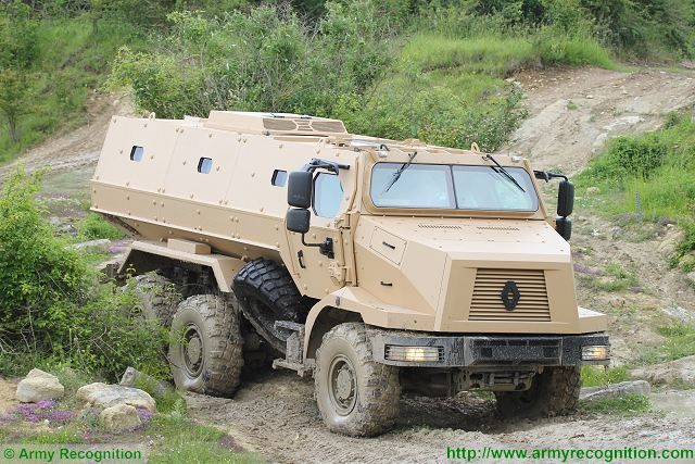 HIGUARD MRAP 6x6 Mine-Resistant Ambush Protected vehicle Renault Trucks Defense 640 001