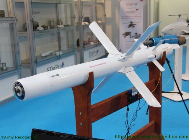 PARTNER 2015 EDePro unveils the new SPIDER guided missile system 640 001