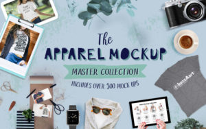 The Apparel Mockup Master Collection
