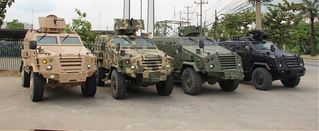 From this rich wealth of experience Chaiseri has gained the knowledge and expertise necessary to develop its own vehicles, thus elevating the company from being a support organisation to the status of original equipment manufacturer. Known as first Win, Chaiseri's initial entry into the OEM world is a tactical 4x4 aimed a: both armed forces and internal security needs.