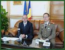 At the invitation of Doru Costea, Romanian ambassador to China, reporters with the PLA Daily visited to the Romanian Embassy in China on the eve of the Romanian Army Day, which falls on October 25, 2012, where Ambassador Costea and Antonio Marinescu, Romanian military attaché to China, received interviews given by PLA Daily reporters and talked about their impressions of China and the relations between the two countries and the two militaries.